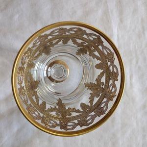 Vetro Gold Glass By Arte Italica Wine Glass *New*